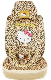 CAR CUSHION HelloKitty Car FrontRear Seat Cover Rearview Mirror Cover