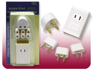 New 220v to 110v 1600W Voltage Converter Travel Plugs