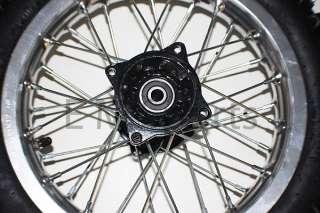 Dirt Pit Bike Front Wheel Rim Tire Combo 3.00 12 Parts