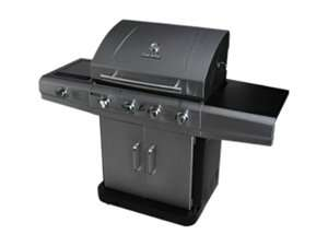 Char Broil Stainless Four burner Dual Fuel with Sideburner 463270311 2