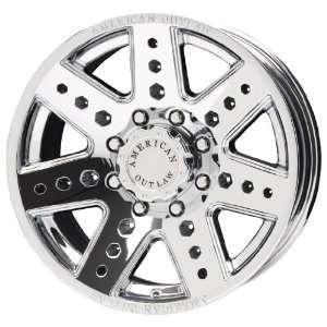 American Outlaw Apache Series Chrome Wheel (17x8.5/6x139