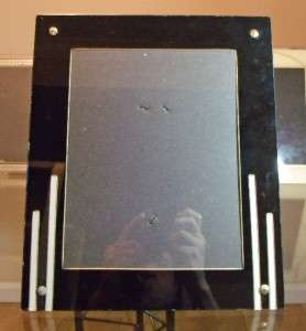 ART DECO reverse painted glass FRAME antique old #16