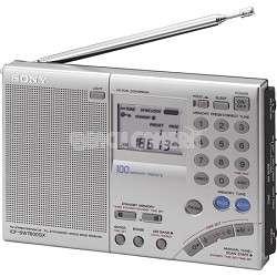 Sony ICF SW7600GR FM Stereo Multi Band World Band Radio 027242580084
