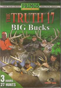 Primos The Truth 17 BIG BUCKS ~ Deer Hunting DVD NEW