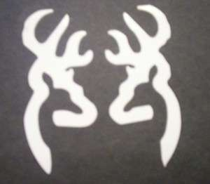 BROWNING DEER HEAD 5 VINYL DECALS WINDOW STICKERS