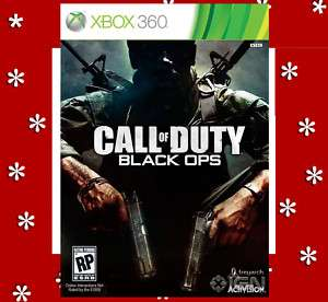 Call of Duty Black Ops (Xbox 360, 2010) Brand New US 1 047875840034