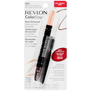 Revlon Colorstay Brow Enhancer Tinted Wax and Highlighter