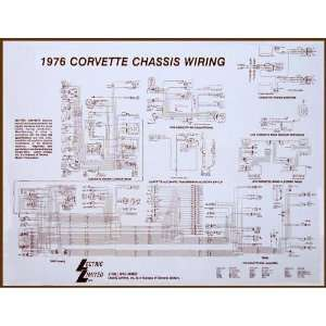 1975 Corvette Wiring Diagram: Automotive