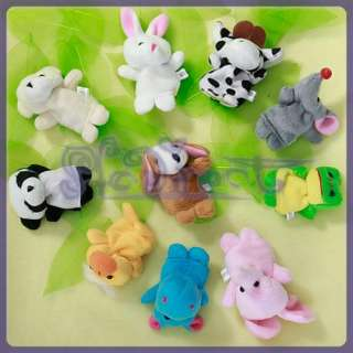 Family Story fairy tale Finger Puppets Toy Teach PARTY FAVOR