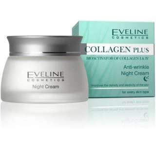 COLLAGEN PLUS Anti Wrinkle Night Cream Face Treatment
