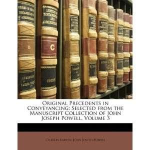 Powell, Volume 3 (9781146729338): Charles Barton, John Joseph Powell