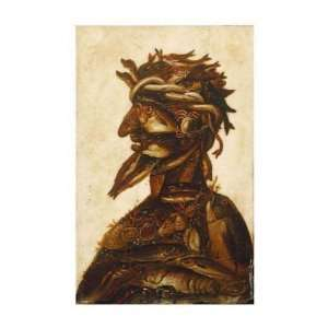 The Four Elements   Water Giuseppe Arcimboldo. 14.13 inches by 20.00