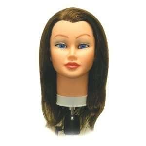 Sam II Cosmetology Human Hair Manikin, Brown Beauty
