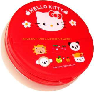 Hello Kitty Red Food Snack Storage Container