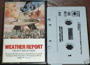 WEATHER REPORT HEAVY WEATHER CASSETTE