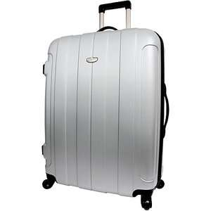 Choice Rome 29 Hard Shell Lightweight Spinner, Silver/Grey Luggage