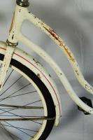 Vintage Schwinn Hollywood Ladies cruiser Bicycle White Pink 1965 Bike
