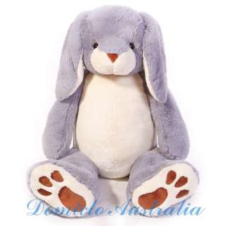 3M GIANT SOFT STUFFED PLUSH GREY BUNNY RABBIT 51