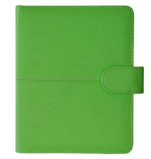 KINDLE 4 4TH GENERATION PREMIUM GREEN LEATHER POUCH CASE COVER