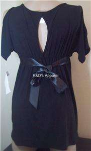 Womens Clothes Maternity Black Shirt Top Blouse S M L X