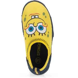 Toddler Kids SpongeBob SquarePants Face Water Shoes Shoes