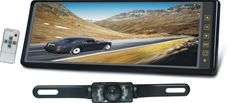 TVIEW REARVIEW MIRROR 10.2MONITOR+LICENSE PLATE CAMERA