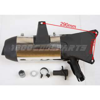 Scooter Exhaust Muffler Assembly for 250cc Jonway YY250T Gas Scooters