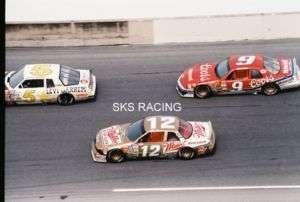 1988 NASCAR PHOTO DAYTONA 500 #12 ALLISON & #9 ELLIOTT
