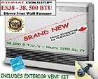 more options rinnai 38500 btu direct vent wall room heater es38c