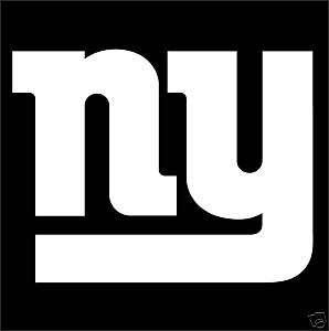 NEW YORK GIANTS Logo NFL Wall Window STICKER Car DECAL