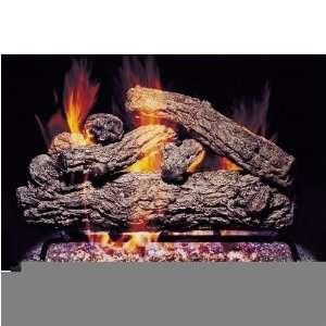 Peterson Gas Logs 36 Inch Rustic Oak Vented Propane Gas Log Set