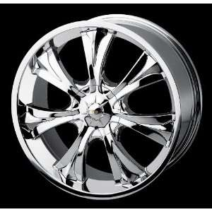 20 CHROME WHEEL AUDI CADILLAC CHEVROLET CHEVY CHRYSLER DODGE MERCEDES