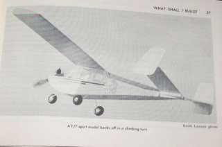 Build Flying Model Airplane RC Gas Engine Motor Balsa CL Pla