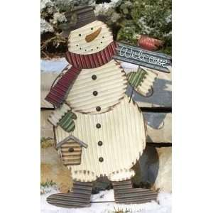 of 2 Snowman Christmas Yard Art Decorations 41 Patio, Lawn & Garden
