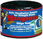 Mongoose Products MGRV120 20 x 11 Rolled Roof Ridge Vent