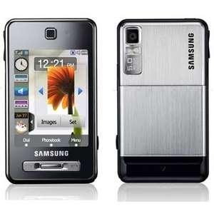 Samsung F480 GSM Quadband Phone (Unlocked) Silver (F480_SILVER)