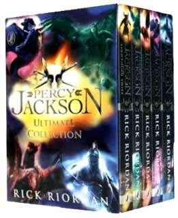 Percy Jackson Ultimate Collection Rick Riordan 5 Books Box Set Pack