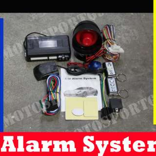 x2 Remote Engine Start Car LOCK Alarm Auto Security System Kit