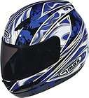 Shark Helmet S650 S 650 Wings White Blue Large L