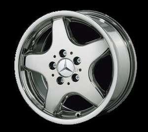 18 Mercedes AMG Style 5 Spoke Chrome Rim (Wheels) 129 SL Class