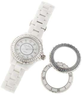 PEUGEOT Swiss Ladies Watch White Ceramic WITH DEFECT