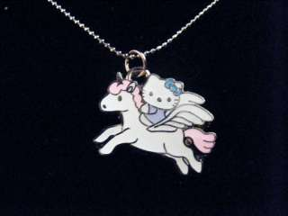 Hello Kitty Unicorn necklace silver chain 1 charm