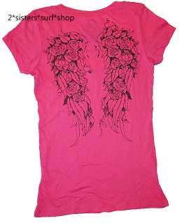 NeW METAL MULISHA Rose Wings Tee T Shirt M