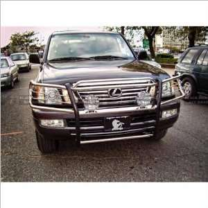 98 07 Lexus LX470 Black Horse Stainless Steel Grill Guard Automotive