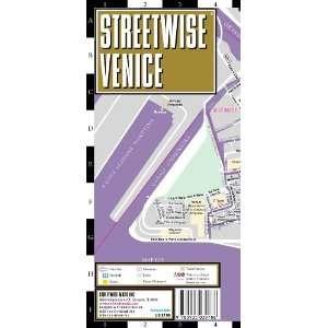 Streetwise Venice Map   Laminated City Center Street Map