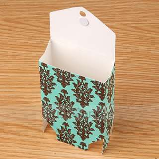 50 pcs Wedding Party Favors Candy Gift Boxes Cases Bags