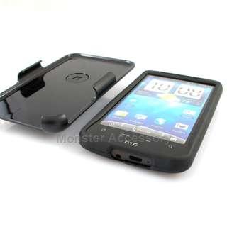 The HTC Inspire Black Rubberized Hard Case Cover provides the maximum