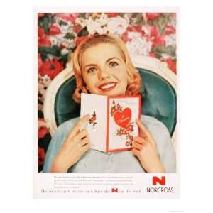 Cards Valentines Day Love, USA, 1950 Premium Poster Print